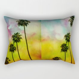4 Palms Rectangular Pillow