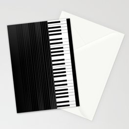 Piano vector art Stationery Cards
