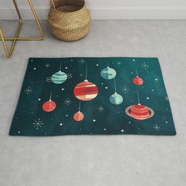 Joy to the Universe (in Teal) Rug