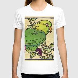 Parrot Linocut T-shirt