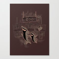 shark zoo Canvas Print