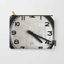 Four Nineteen Clock Carry-All Pouch