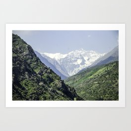 Valle Nevado - Chile Art Print