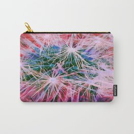 Dandelion in Red Carry-All Pouch