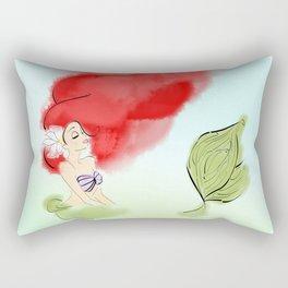 Mermaid Dreams. Rectangular Pillow