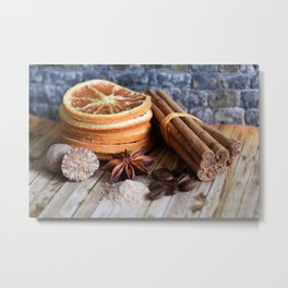 Spices Of Life Metal Print