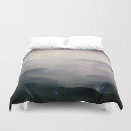 Mountain Nebulas Duvet Cover