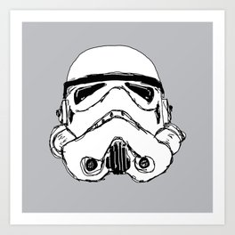 Trooper  Art Print