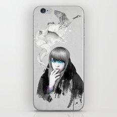 Swan Love iPhone & iPod Skin