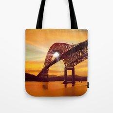 Pan-American Bridge Tote Bag
