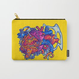 BUSTED HEART Carry-All Pouch