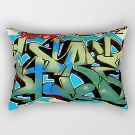 Wildstyle Tag Rectangular Pillow