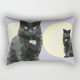 """Resting bitch face"" cat Rectangular Pillow"