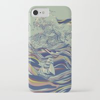 huebucket iPhone & iPod Cases featuring OCEAN AND LOVE by Huebucket