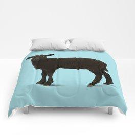 Black Lamb // Blue Comforters