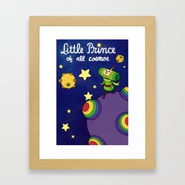 Little Prince of All Cosmos Framed Art Print