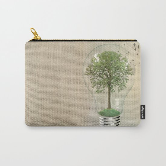 green ideas 02 Carry-All Pouch