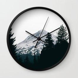 Mount Hood XII Wall Clock
