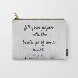 Wordsworth Quote Carry-All Pouch
