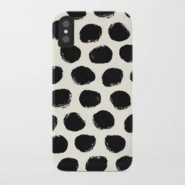 Urban Polka Dots iPhone Case