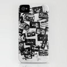 Cassettes iPhone (4, 4s) Slim Case