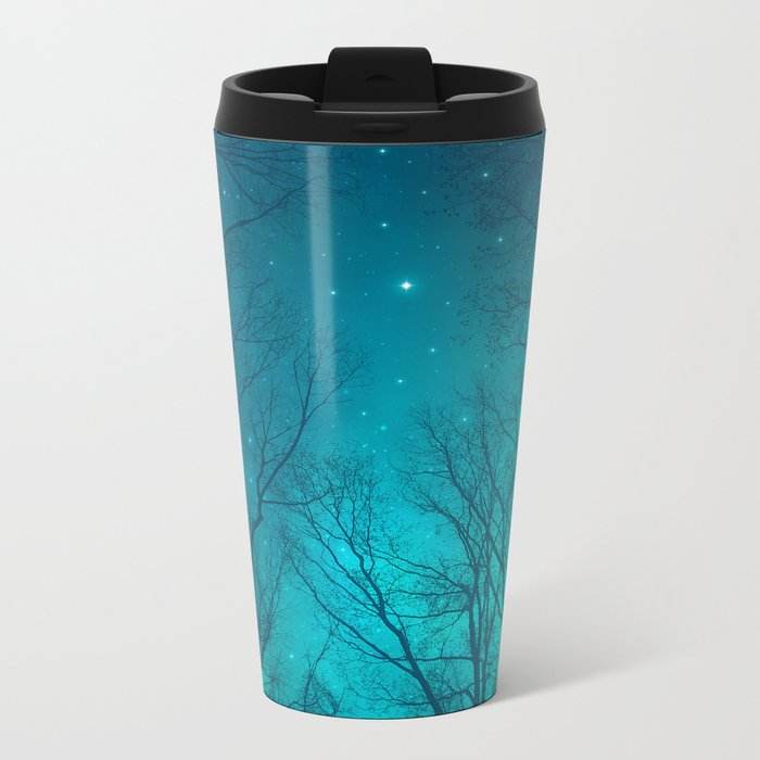 Only In the Darkness Metal Travel Mug