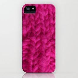 Pink Hat iPhone Case