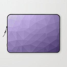 Ultra violet purple geometric mesh Laptop Sleeve