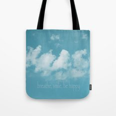Blue Sky Meditation Tote Bag