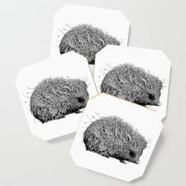 Leaf Hedgehog Coaster