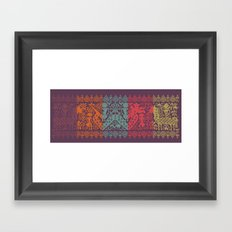Cerita Raja II Framed Art Print