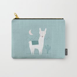 Alpaca In The Mountains Carry-All Pouch