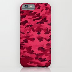 Foliage Abstract Pop Art Blush Red Slim Case iPhone 6s