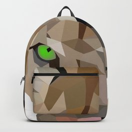 Cougar art Geometric Backpack