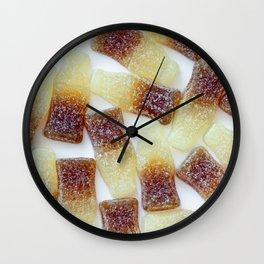 Fizzy Cola Bottles Wall Clock