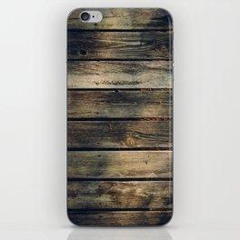 Rustic Barn Wood iPhone Skin