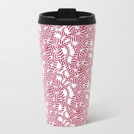 Candy cane flower pattern 7 Travel Mug