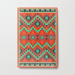 Berber Pattern Metal Print