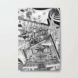 A VECES CUALQUIER COSA ES CUALQUIER COSA Metal Print