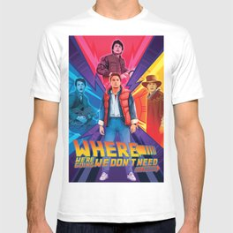 Back to the Future by Big Foot Studios T-shirt