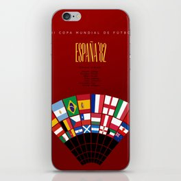 World Cup: Spain 1982 iPhone Skin