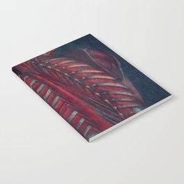 Anatomy art BACK RIB MUSCLE dark art, gothic home decor, gothic decor, gothic wall decor, medical Notebook