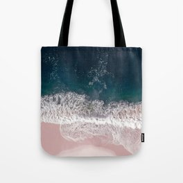 Sands of Pearly Pink Tote Bag