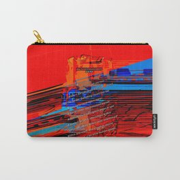 Cells Interlinked - Bold Red and Blue Carry-All Pouch