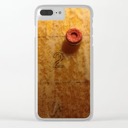 Shuffleboard Clear iPhone Case