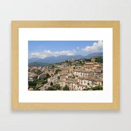 Altomonte, Italy Framed Art Print