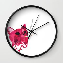 Kitty Kat Wall Clock