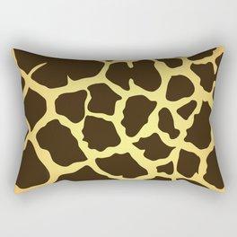 Giraffe Skin Print Rectangular Pillow