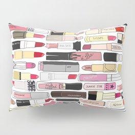 Lipstick War Pillow Sham