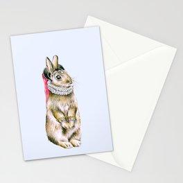 Lady Rabbit Stationery Cards